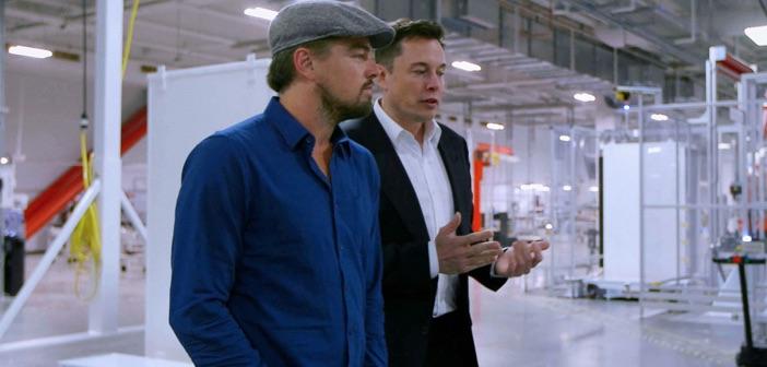 Leonardo di caprio and Elon Musk