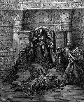 """The Sultana Chegger-Eddour and the Emir Saif-Eddin"" by Gustave Dore - headstuff.org"