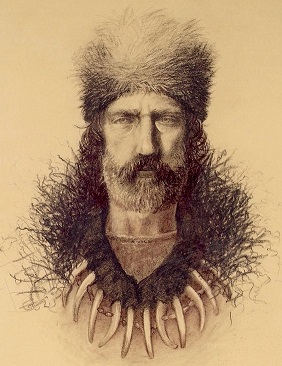 Hugh Glass featured in 'Longhairs of The Old West'